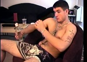 Straight Boy C J Gets A Blowjob