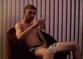 Making Straight Boy Toby Cum