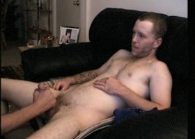 Straight Johnny Shares Cock