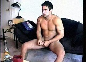 Stroking Str8 Roommate Zack