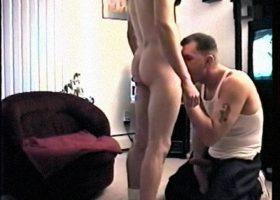 Straigh Boy Buzz Sucking Dick