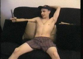Giving Straight Boy Cory A Handjob