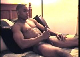 10 Inches Of Straight Black Cock