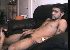 Straigh Boy Franco Strokes Cock