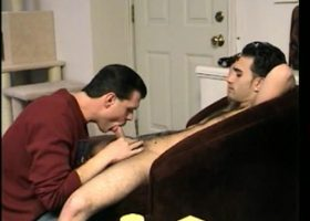 Straight Boy Paulie Licks Dick