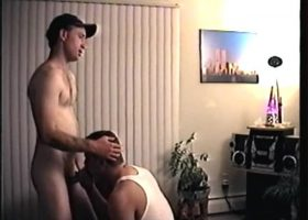 Straight Boy Johnny Gives Head