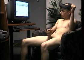 Straight Boy Cory Beating Off