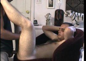 Str8 Boy Casey Tries Anal