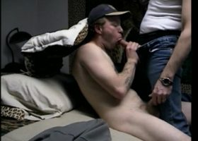 Straight Johnny Tries Sucking
