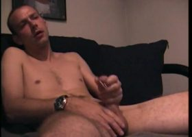 Straight Troy Jacking Off