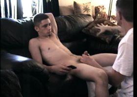 Dick Licking Straight Cory