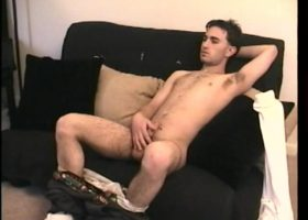 Straight Boy Paulie Beats His Meat