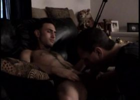 Licking Straight Boy Paulie Cock