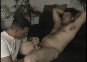 Straight Boy CJ Enjoys Gay BJ