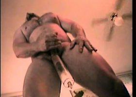Straight Boy Buck Tries Penis Pump