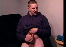 Straight Boy Mason Jacking