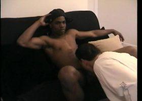 Sucking Off 10 Inch Straight Boy
