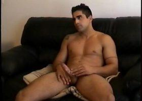 Stroking Straight Boy Cock