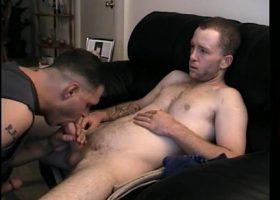 Straight Johnny Shares Dick