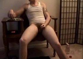 Straight Boy Marshall Jerks Off
