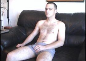 Straight Boy Casey Stroking Cock
