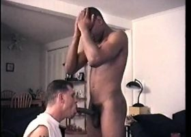 Sucking Ebony Straight Boy Cock