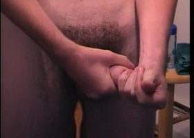Hung Straight Boy Ace Beating Off