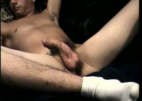 Straight Boy Cory Gets A Blowjob