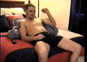 Straight Boy Axel Jacking Off