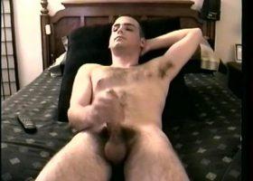 Straight Boy Casey Stroking Off