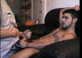 Straight Boy Franco Stroking Cock