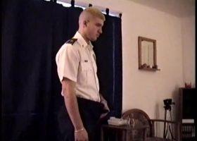 Servicing Straight Soldier Boy CJ