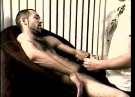 Straight Enrique Plays With Cock