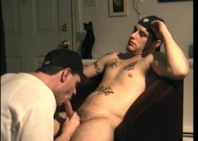 Swallowing Straight Buzz Cock