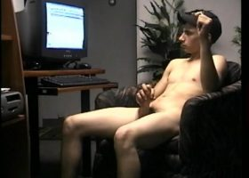 Straight Boy Cory Stroking Off