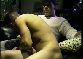 Curious Cory Sucks Cock