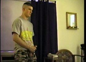 Straight Boy CJ Stroking