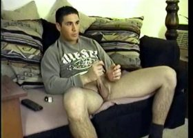 Straight Boy Jeremy Cums Twice