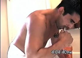 Straight Boy Zack Shower Jacking