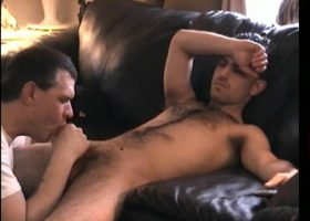 Straight Paulie Sucks Cock