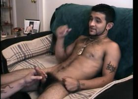 Straight Boy Franco Touches Cock