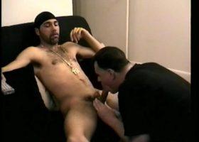 Straight Enrique Sucks Cock