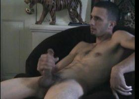 Straight Boy Jake Beating Off