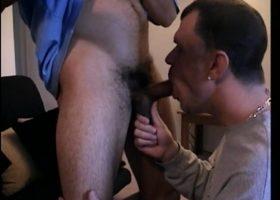 Sucking On Hung Straight Boy