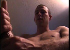 Straight Boy Troy Stroking