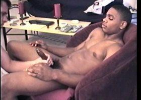 Sucking Ebony Straight Boy Cock