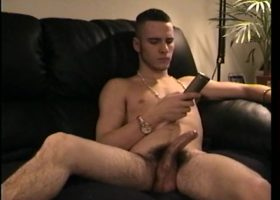 Straight Boy Adam Gets Handjob