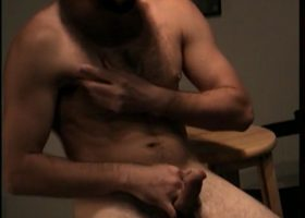 Straight Boy Jeff Strokes His Meat