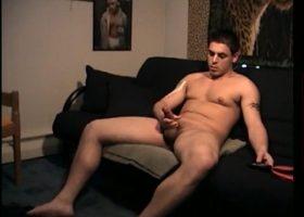Straight Boy Ethan Jerks Off
